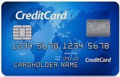 Creditcard storting