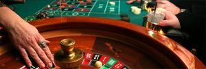Online roulette casino's wiel